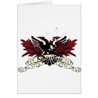 アルバニアのワシ カード