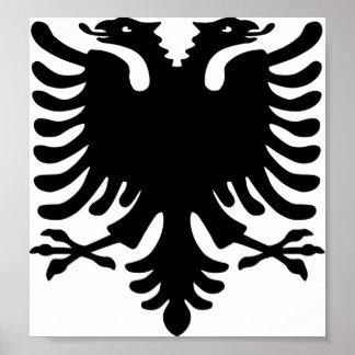 アルバニアのワシ ポスター
