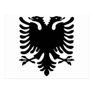 アルバニアのワシ ポストカード