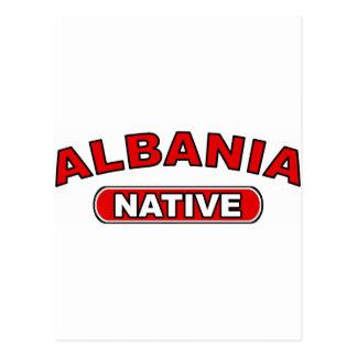 アルバニアの先住民 ポストカード