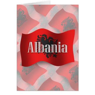 アルバニアの振る旗 カード