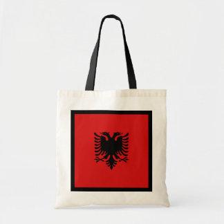 アルバニアの旗のバッグ トートバッグ