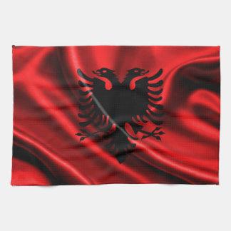 アルバニアの旗、アルバニアの旗 キッチンタオル