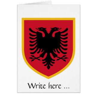 アルバニアの旗 カード