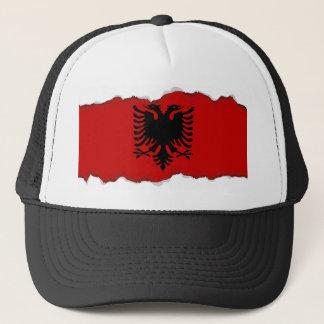 アルバニアの旗 キャップ