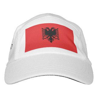 アルバニアの旗 ヘッドスウェットハット