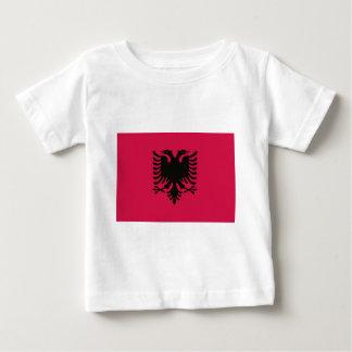 アルバニアの旗 ベビーTシャツ