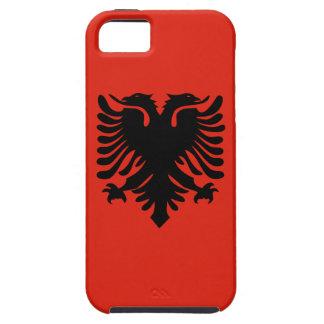 アルバニアの旗 iPhone SE/5/5s ケース
