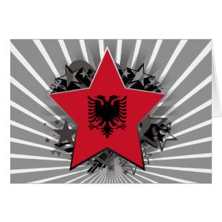 アルバニアの星 カード