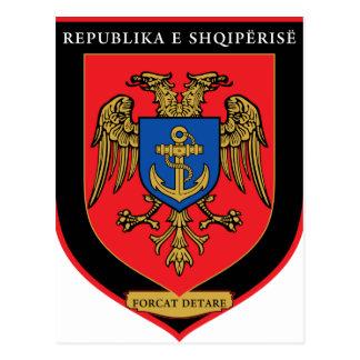 アルバニアの海上部隊- Forcat Detare ポストカード