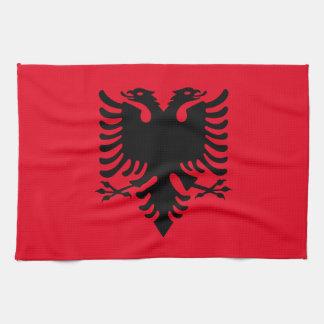 アルバニアの紋章付き外衣 キッチンタオル