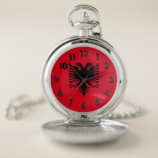 アルバニアの紋章付き外衣 ポケットウォッチ