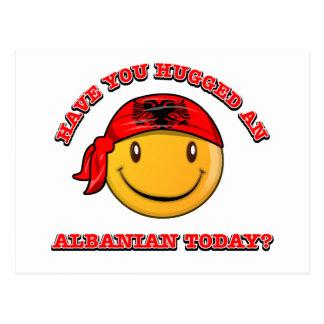 アルバニア人を今日抱き締めましたか。 ポストカード