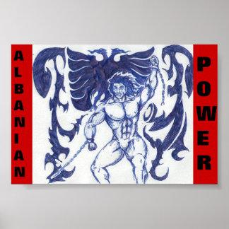 アルバニア力 ポスター