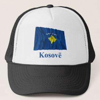 アルバニア語の名前のコソボの振る旗 キャップ