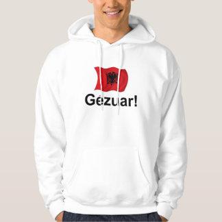 アルバニア語Gezuar! (応援) パーカ