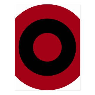 アルバニア語Roundel ポストカード