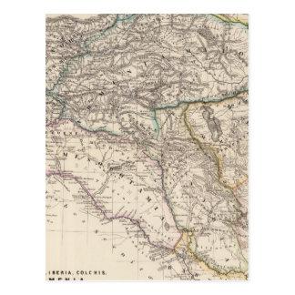 アルバニア、イベリア、Colchis、アルメニアのメソポタミア ポストカード