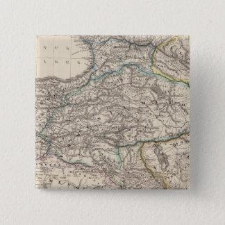 アルバニア、イベリア、Colchis、アルメニアのメソポタミア 5.1cm 正方形バッジ