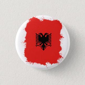 アルバニアPin 3.2cm 丸型バッジ
