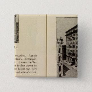 アルバニーのガレージ10 Eyck 5.1cm 正方形バッジ