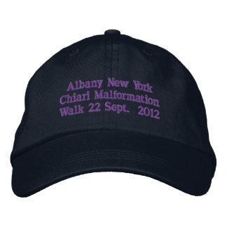 アルバニーニューヨーク2012年 刺繍入りキャップ