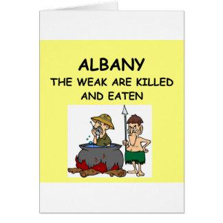 アルバニー カード