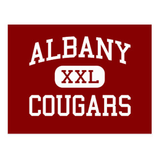 アルバニー-クーガー-高等学校-アルバニーカリフォルニア ポストカード