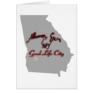 アルバニー-私の豊かな生活都市 カード