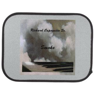 アルバムのためのアルバム芸術の車のフロアマットは煙ります カーマット