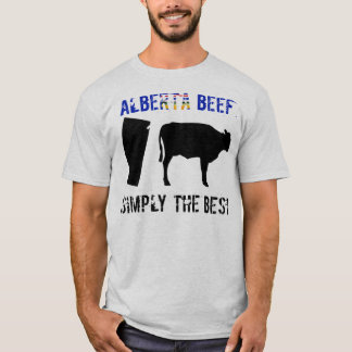 アルバータのビーフのワイシャツ Tシャツ