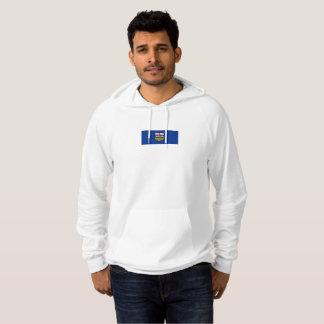 アルバータのフード付きスウェットシャツのメンズ旗 パーカ