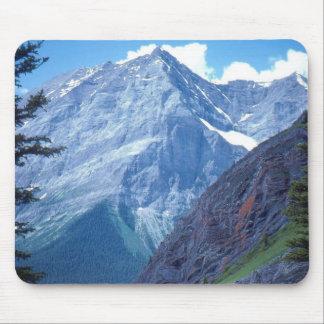 アルバータのロッキー山脈 マウスパッド