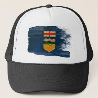 アルバータの旗のトラック運転手の帽子 キャップ
