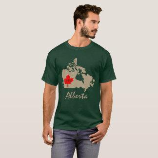 アルバータはカナダの地域をカスタマイズ Tシャツ