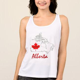 アルバータは愛カナダの地域タンクをカスタマイズ タンクトップ