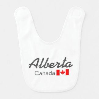 アルバータ、カナダのベビー用ビブ ベビービブ