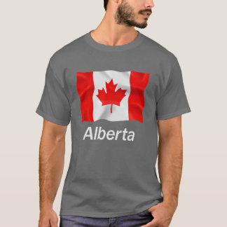 アルバータ-基本的な暗いTシャツ Tシャツ