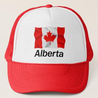 アルバータ-赤いトラック運転手の帽子 キャップ