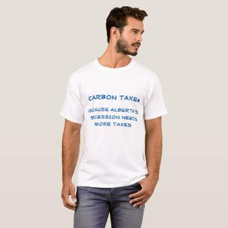 アルバータNDPカーボン税メッセージ Tシャツ