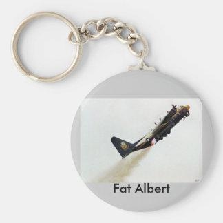アルバートの脂肪質のJATOのブルーエンジェル、脂肪質のアルバート キーホルダー