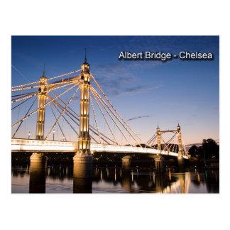 アルバート橋郵便はがき ポストカード