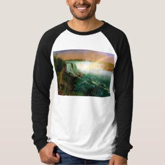 アルバートBierstadtナイアガラ・フォールズの絵画の芸術の芸術家 Tシャツ
