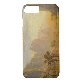 アルバートBierstadt -ヨセミテの谷 iPhone 8/7ケース