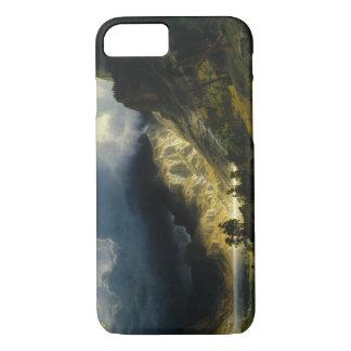 アルバートBierstadt -ロッキー山脈の嵐 iPhone 8/7ケース