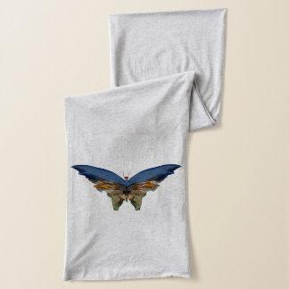 アルバートBierstadt -ヴィンテージの芸術著青い蝶 スカーフ