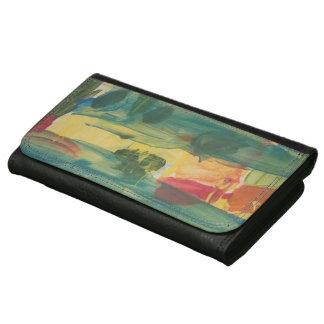"""アルバートSmeraldoの""""日没橋が付いている大きい財布"""