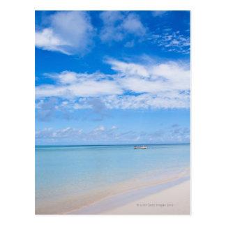 アルバ、ビーチおよび海 ポストカード