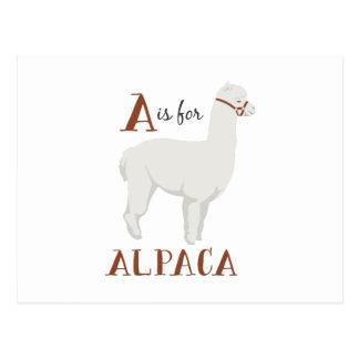 アルパカのためのA ポストカード