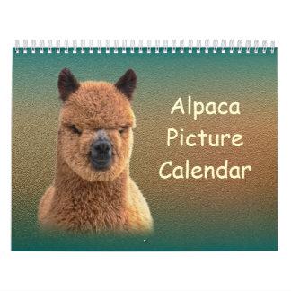 アルパカのカレンダー2018年 カレンダー